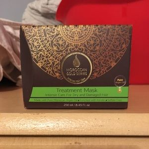 Moroccan Gold Hair Treatment Mask